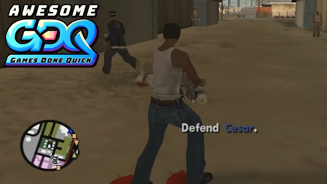 Grand Theft Auto: San Andreas by Reset in 4:02:04 - AGDQ2020 thumbnail