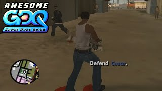 Grand Theft Auto: San Andreas by Reset in 4:02:04 - AGDQ2020