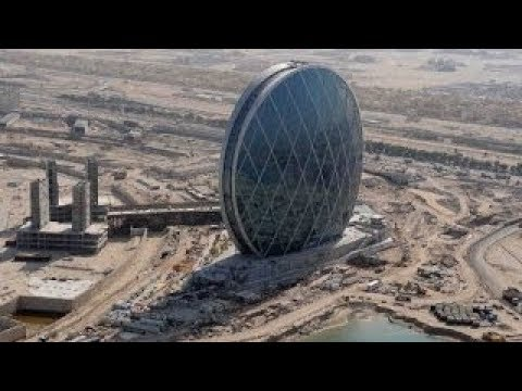 AlDar HQ - The world's first circular skyscraper - Abu Dhabi 2010 أبو ظبى