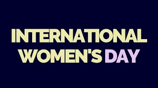 International Women's Day 2021 - Teaser