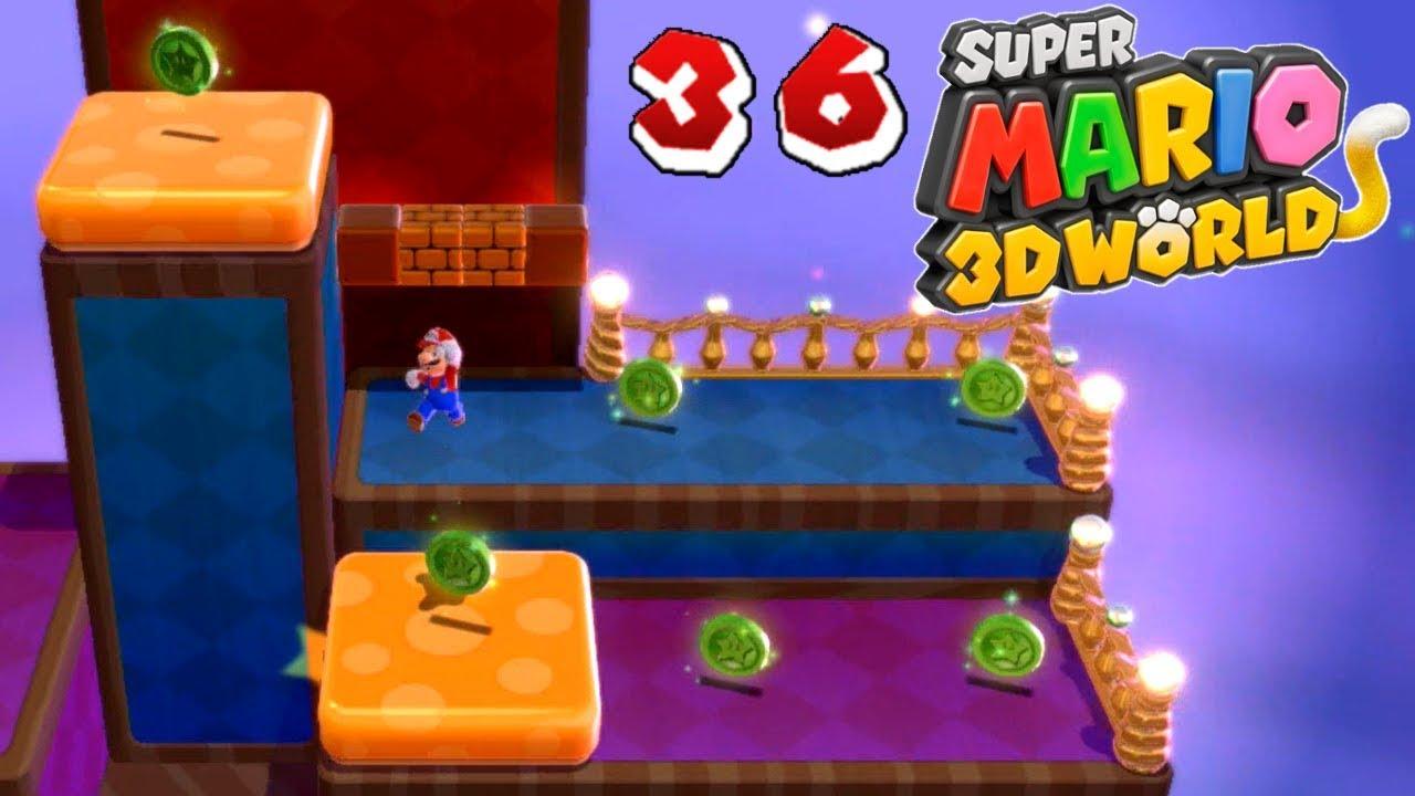 Let\'s Play Super Mario 3D World (BLIND) [#36][German] Zu viele ...