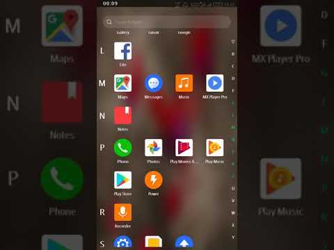 How to use app lock in Infinix note 4