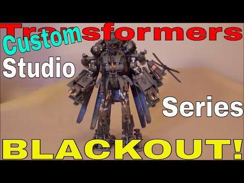Transformers Studio Series Custom Blackout - GotBot True Review NUMBER 402