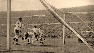 El primer gol en la historia de la Copa Mundial de Fútbol