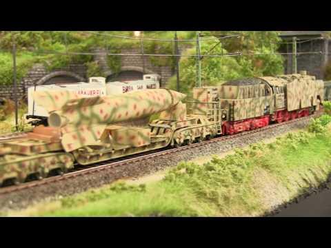 REI Military HO Scale V2 Transport Train Set
