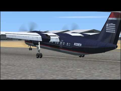 Just Flight Dash 8-300 Professional Review FSX
