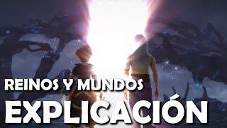 Kingdom Hearts - Reinos, Mundos y formas de viaje (Explicación español)