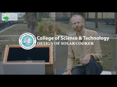 Design of Solar Cooker by ME in Renewable Energy | College of Science and Technology