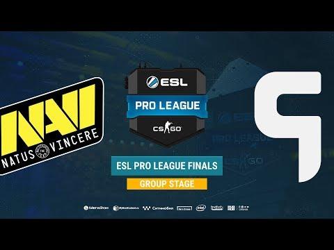 Natus Vincere vs Ghost - ESL Pro League S8 - Map 2