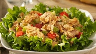 Tuna Salad - Healthy Food - Diabetic Food - How To
