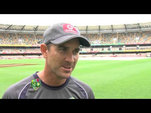 Wet weather with Justin Langer