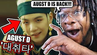 Download AMERICAN RAPPER REACTS TO AGUST D! | Agust D '대취타' MV (REACTION!) Mp3 and Videos