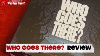 Who Goes There? The Thing Board Game Video Review