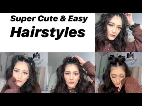 8 Easy Simple Hairstyles| Nikkie thumbnail