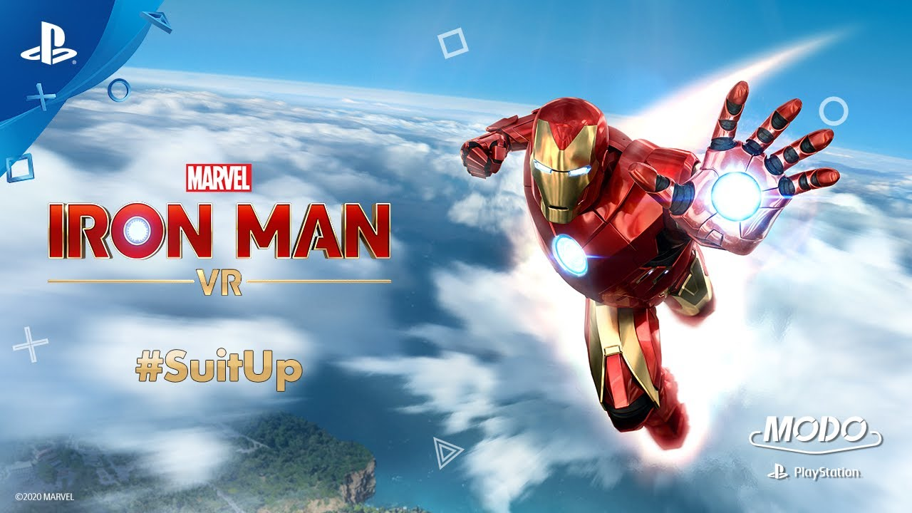 MODO PLAYSTATION #37: MARVEL'S IRON MAN VR - SUIT UP!