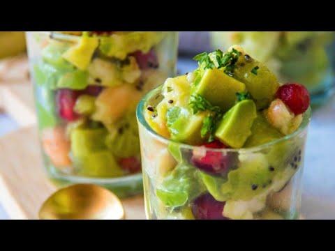 recette-:-verrines-de-noël-au-kiwi