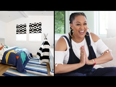 Tia Mowry's House Tour: Part 2 | Quick Fix