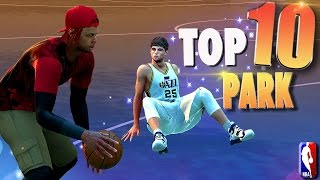 NBA 2K16 TOP 10 PARK Ankle Breakers, Deadly Crossovers, TrickShots & Putbacks