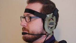 Z-Tactical Bowman Style Headset with Wireless Push-To-Talk (PTT) System - AirsoftPeak