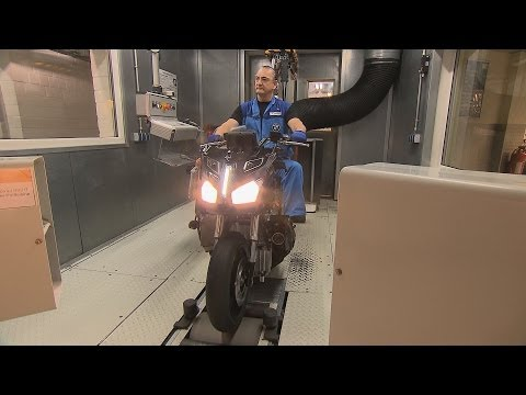 2015 BMW C evolution - Test of Roller Dynamometer