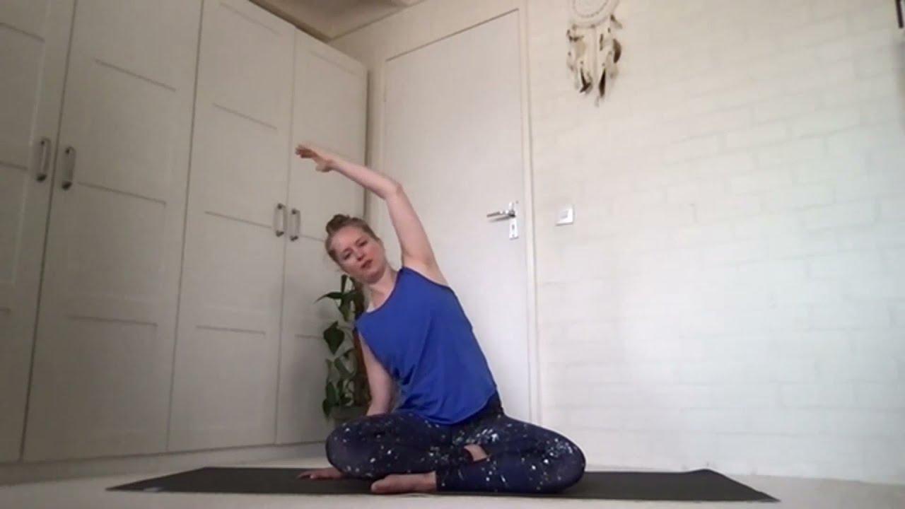 Cadeautje: heerlijke hatha yogales om je lichaam los te maken