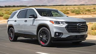 2019 Chevrolet Traverse (8 Seater) – Rival of Nissan Pathfinder, Toyota Highlander and Honda Pilot