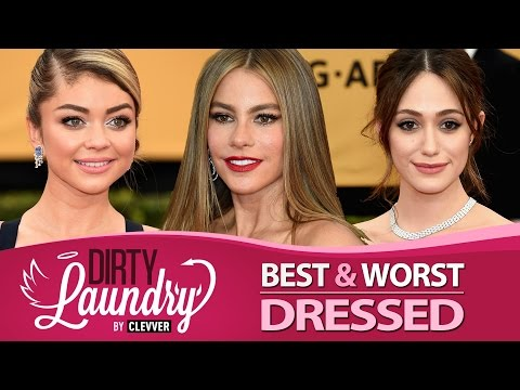 Best & Worst Dressed SAG Awards 2015 - Dirty Laundry