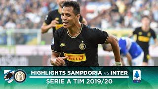 SAMPDORIA 1-3 INTER | HIGHLIGHTS | Sensi, Sanchez and Gagliardini with the goals!
