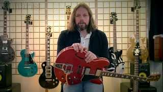 Rich Robinson on his Gibson Memphis signature ES-335