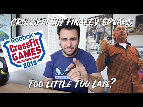 The Games & The Open Remain For Now: CrossFit HQ Finally Speaks