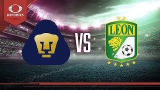 Pumas recibe a León | Jornada 8 - Cl 2019 | Televisa Deportes