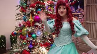 Happy Holidays from The Little Mermaid!