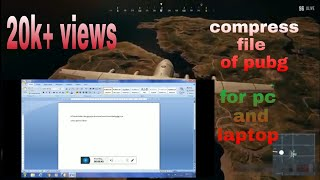 Gambar cover Download PUBG Highly Compressed In Pc