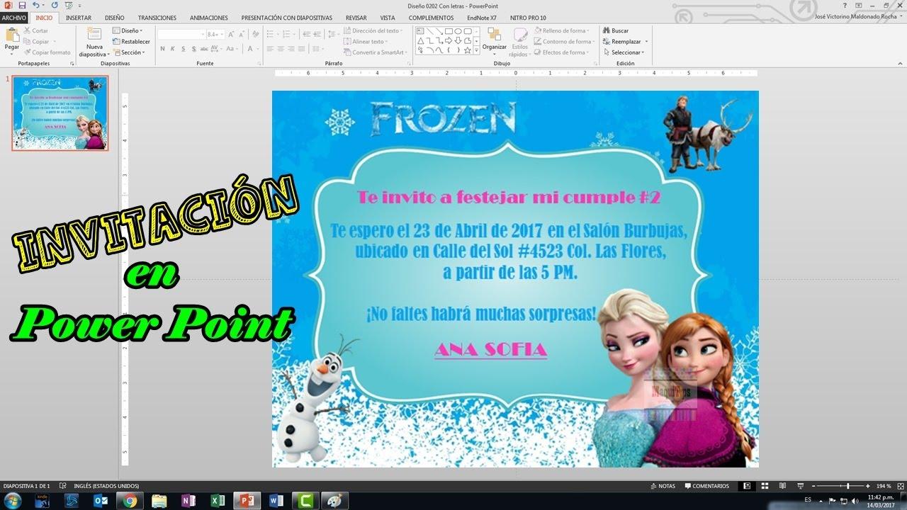 Ideas Fiesta Frozen Como Hacer Invitaciones Para Fiesta De Frozen Para Imprimir Maquitips
