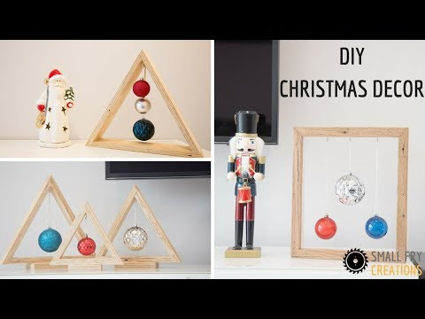 DIY Christmas Decor using scrap wood