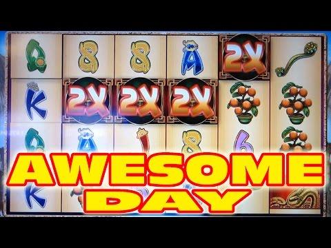 AWESOME DAY AT PALACE STATION CASINO -- Slot Machine Bonus Wins!