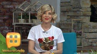 Edith González en el foro de Ventaneando