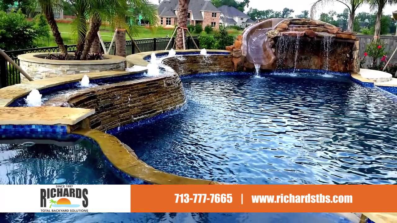 Perfect Richardu0027s Total Backyard Solutions Pools, Spas, Outdoor Kitchens U0026 More!