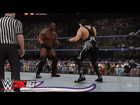 WWE 2k16 - Sting vs. Booker T: Spring Stampede 2000 | PS4 Gameplay