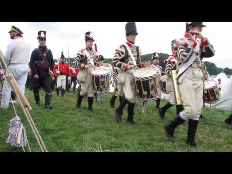 Britische Linieninfanterie bei Waterloo 2015