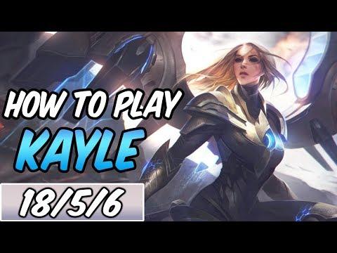 KAYLE GUIDE | Build & Runes | Diamond Commentary |  League Of Legends | S9