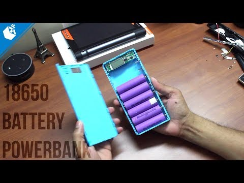 Powerbank Using Laptop Battery And 18650 Battery Case