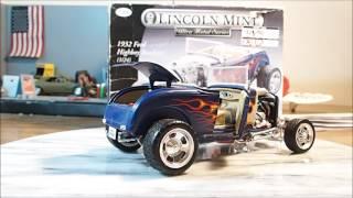 Testors Lincoln Mint Ultra Metal Series 1932 Highboy Roadster