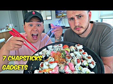 7 Chopsticks Gadgets put to the Test!