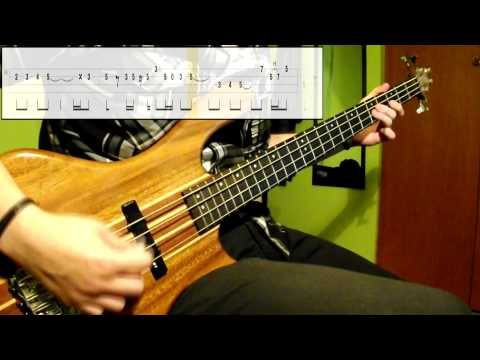 George Baker - Little Green Bag (Bass Cover) (Play Along Tabs In Video)