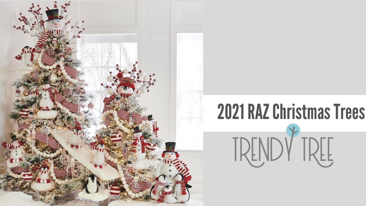 Raz 2021 Christmas Catalog Quick Look At The 2021 Raz Christmas Trees Presented By Trendy Tree Youtube