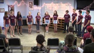 Redemption Song - Burlingtones Spring Concert - June 2014