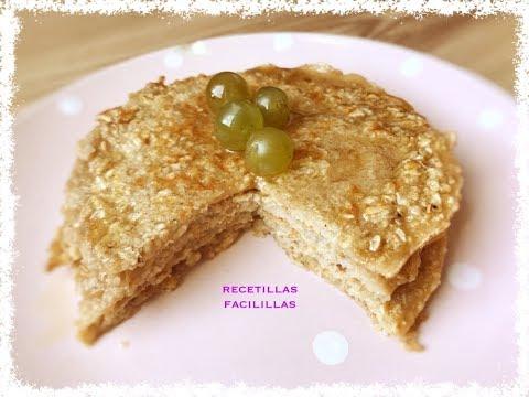 tortitas-de-avena-/-receta-fitness-de-pancakes-🥞