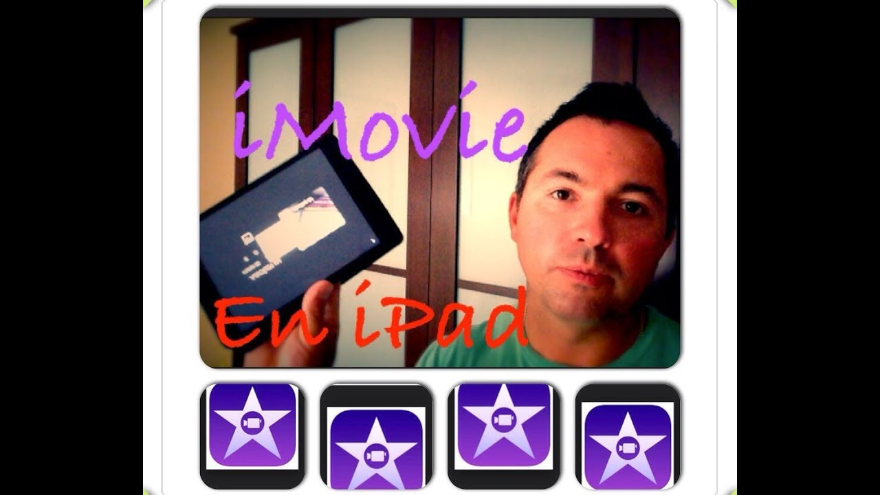 Como crear pelicula video con iMovie iPad Mini iPhone 6 Rápido y ...