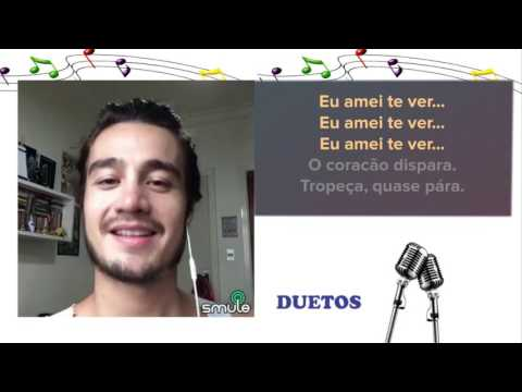 Cante com Tiago Iorc - Eu amei te ver - Karaoke